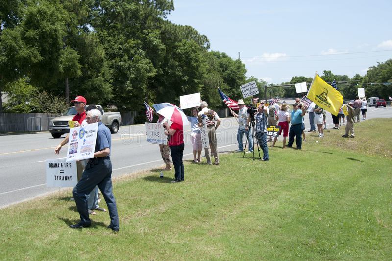 Download IRS Protest editorial stock photo. Image of teaparty - 31132803