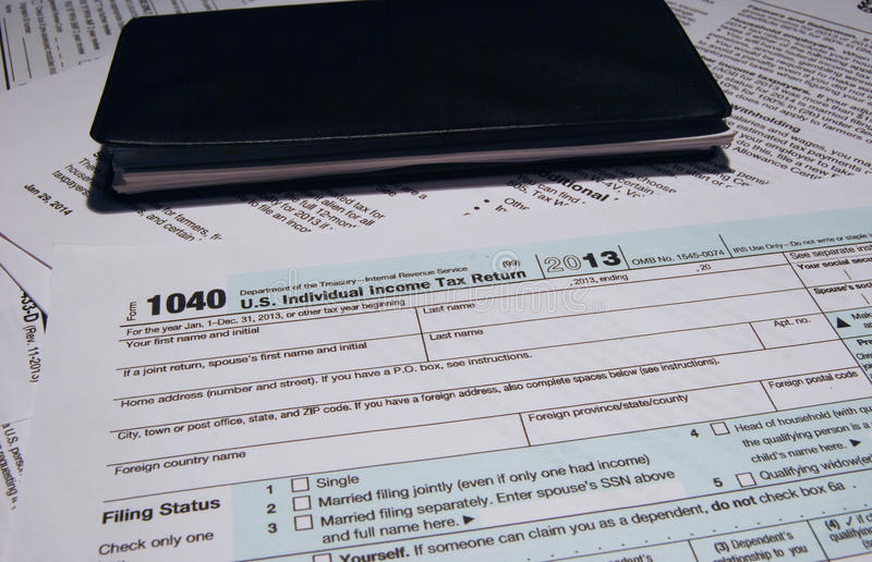 Irs Tax Form 1040 Editorial Stock Image Image Of Federal 39403919