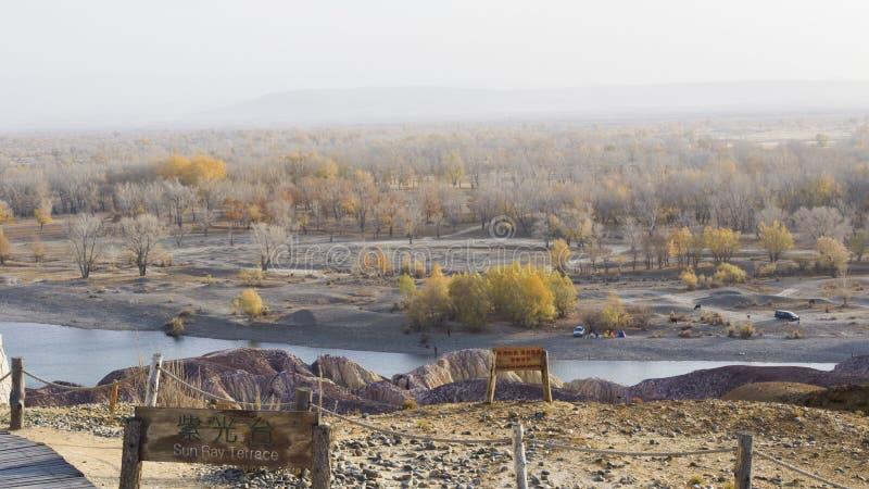 Irtysh flod fotografering för bildbyråer
