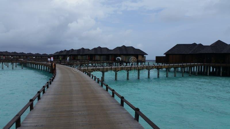 Irufushi de Sião do sol de Maldivas foto de stock royalty free