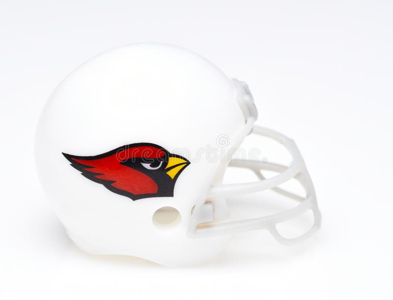 Football Helmet of the Arizona Cardinals stock photography