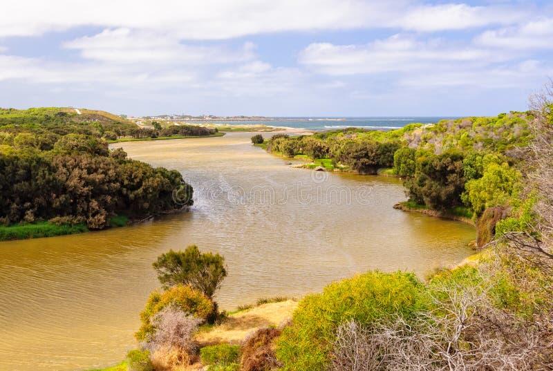 Irwin rzeka - Dongara zdjęcie royalty free