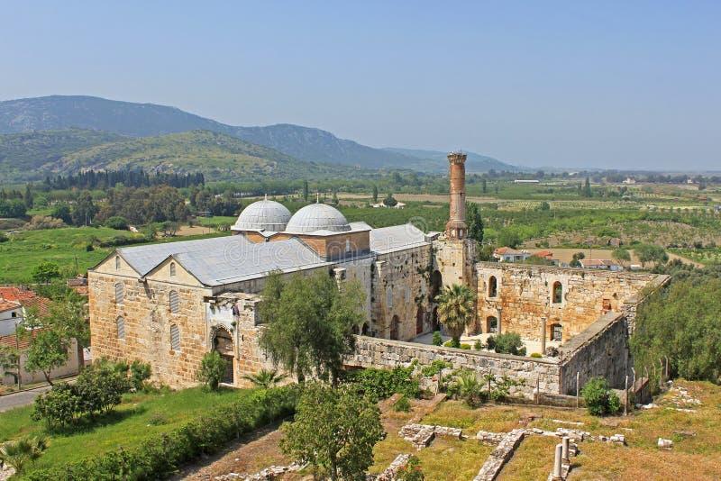 Isa Bey Mosque, Selcuk, Turkey royalty free stock photo