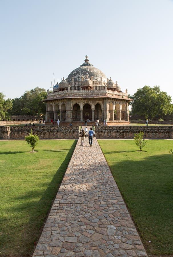 Isa Khan Tomb Enclosure, Delhi, India immagini stock libere da diritti