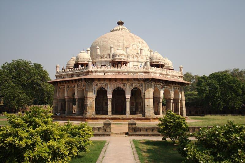 Isa Khan Tomb, New Delhi. Isa Khan Tomb is located near Humayun's Tomb in New Delhi royalty free stock photography