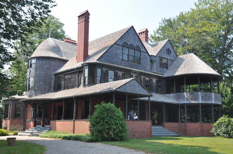 Isaac Bell House à Newport photo libre de droits