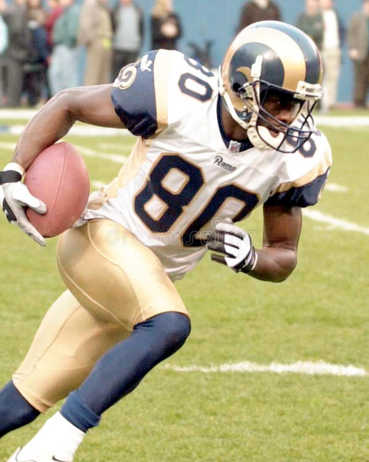 Isaac Bruce. St. Louis Rams wide receiver Isaac Bruce. ( Image taken from color slide stock images