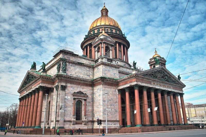 Download Isaac Cathedral In Saint Petersburg Stock Photo - Image of building, christ: 8866418