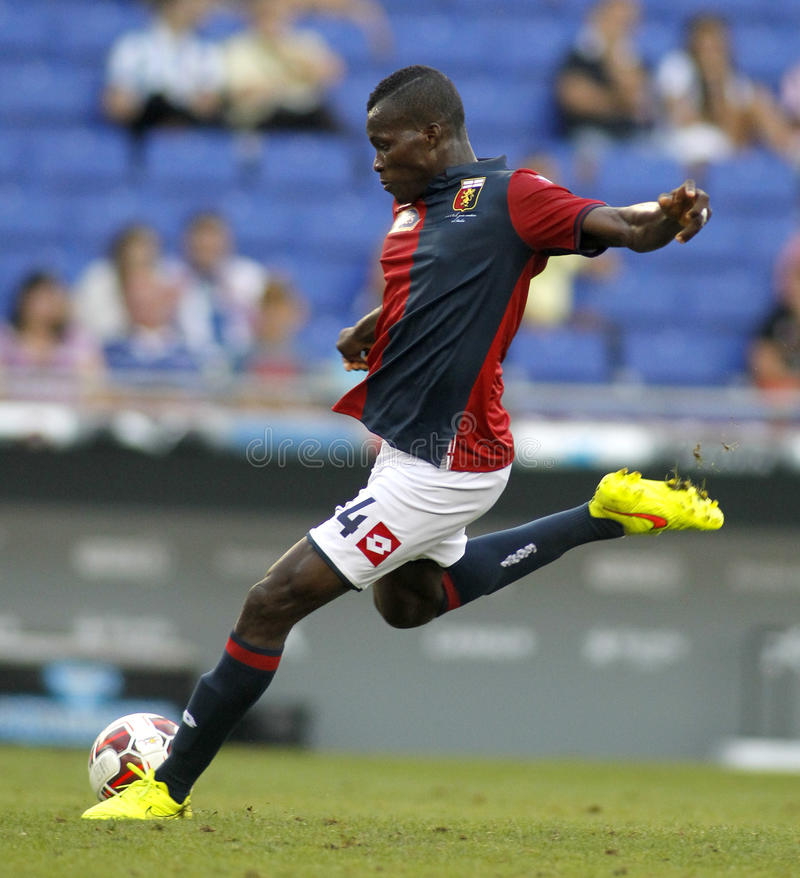 Free Isaac Cofie Of Genoa CFC Royalty Free Stock Images - 43831779