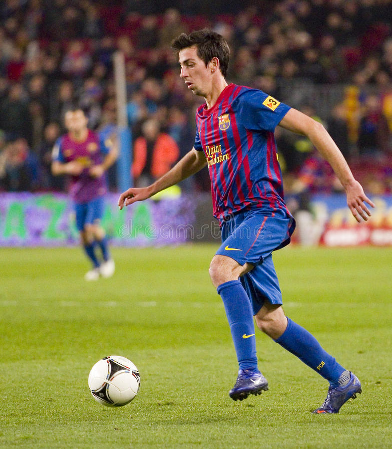 Isaac Cuenca dans l'action photos stock