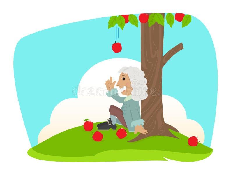 Isaac Newton royalty free stock photo