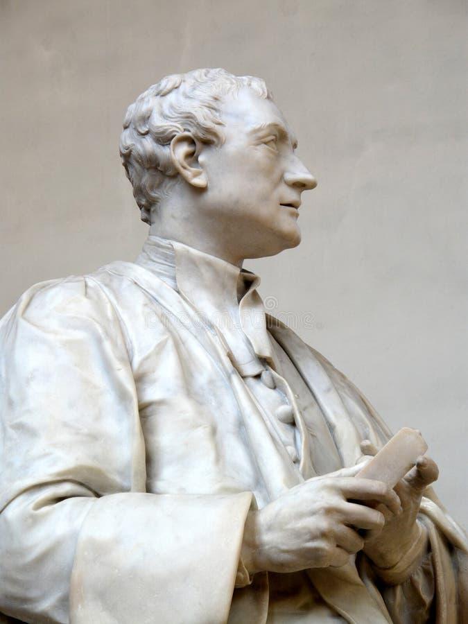 Isaac Newton herrnstaty royaltyfri fotografi