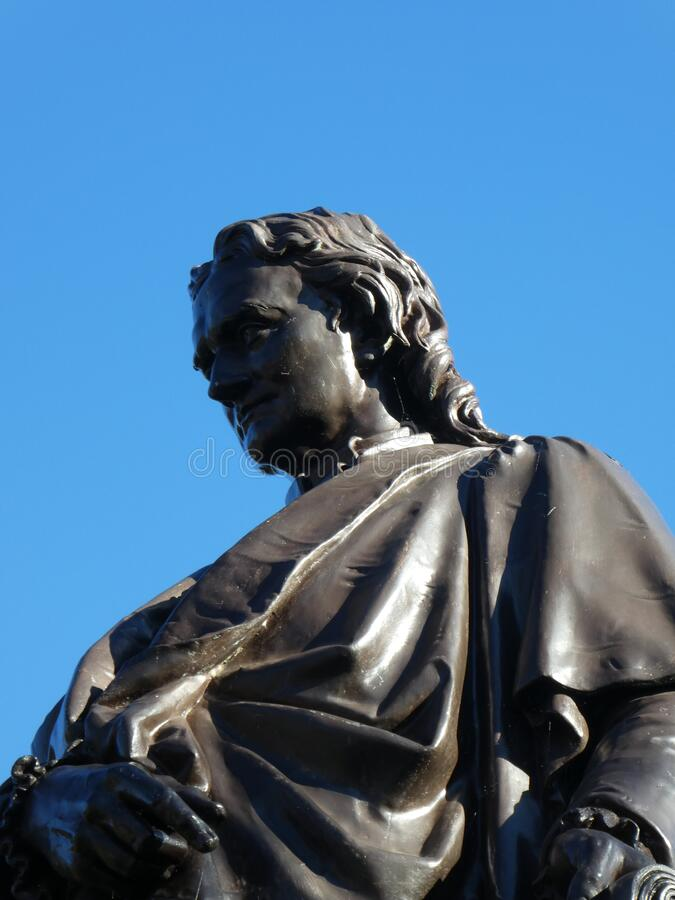 Free Isaac Newton Statue Stock Images - 176036244