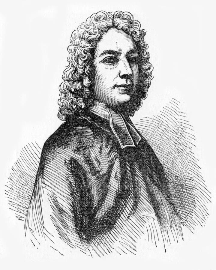 Isaac Watts ilustração do vetor