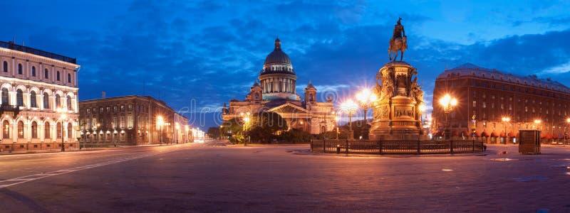 isaakievsky的大教堂 免版税图库摄影