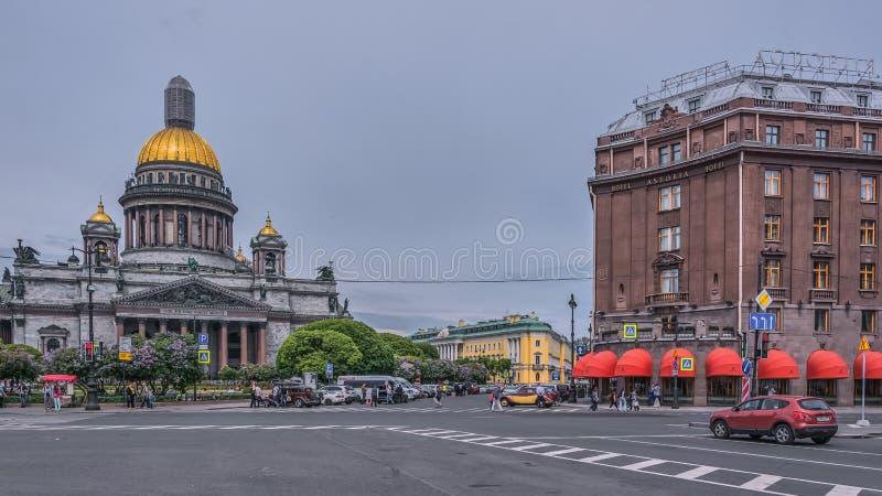 Isaakievsky katedra fotografia stock