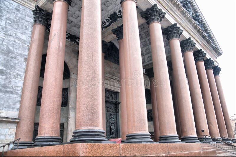 Isaakiyevskiy cathedral stock image