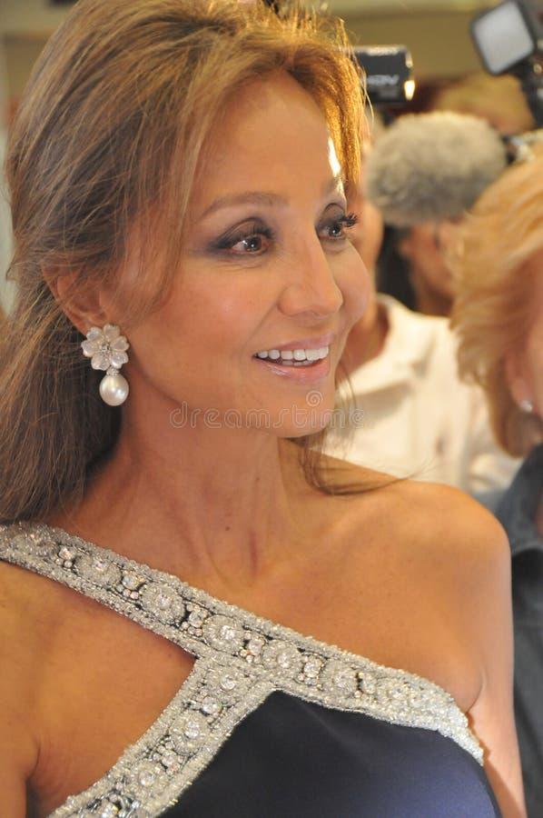 Isabel Preysler Enrique Iglesias-Mütter stockbild