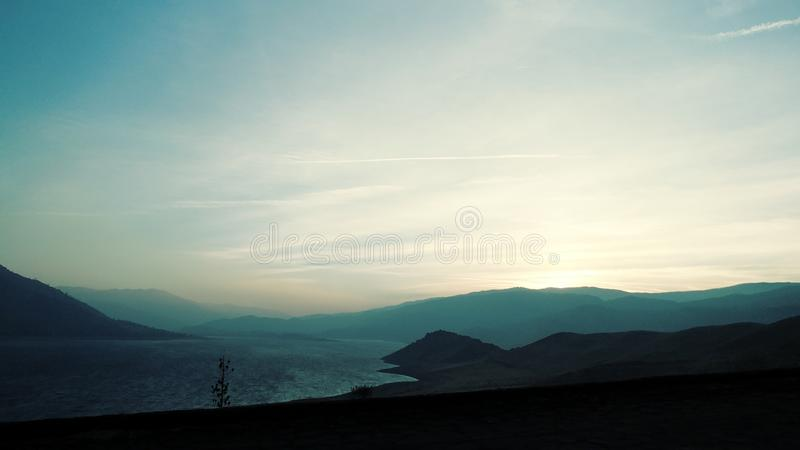 isabella jezioro zdjęcie royalty free