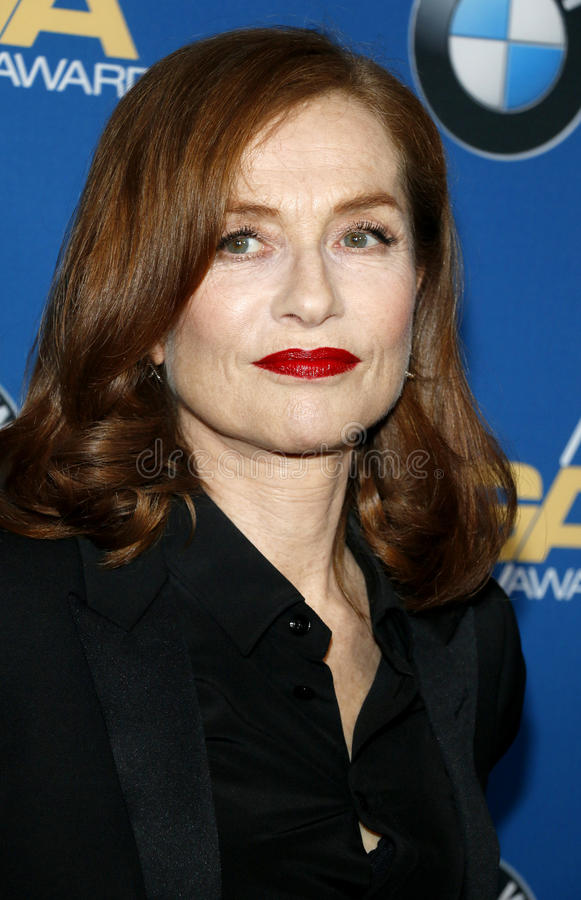 Isabelle Huppert. At the 69th Annual Directors Guild Of America Awards held at the Beverly Hilton Hotel in Beverly Hills, USA on February 4, 2017 royalty free stock photography