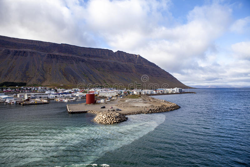 Isafjordur_iceland-3 royaltyfri fotografi