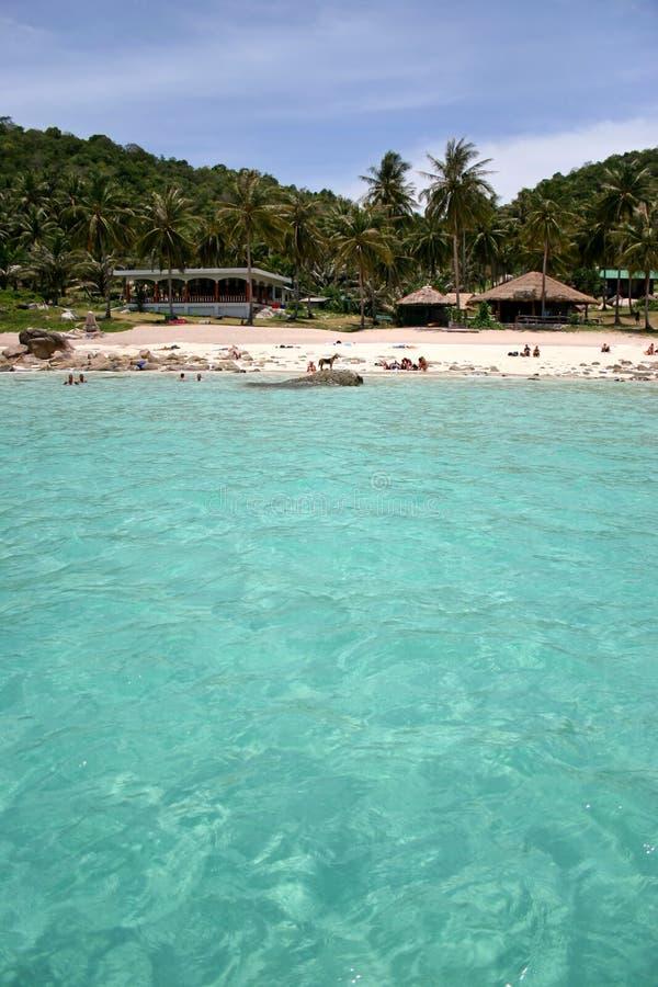 Isand tropical del agua foto de archivo libre de regalías