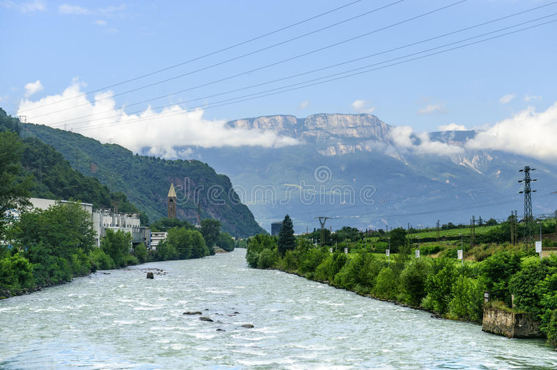 Download Isarco Valley stock image. Image of river, valley, isarco - 26145193
