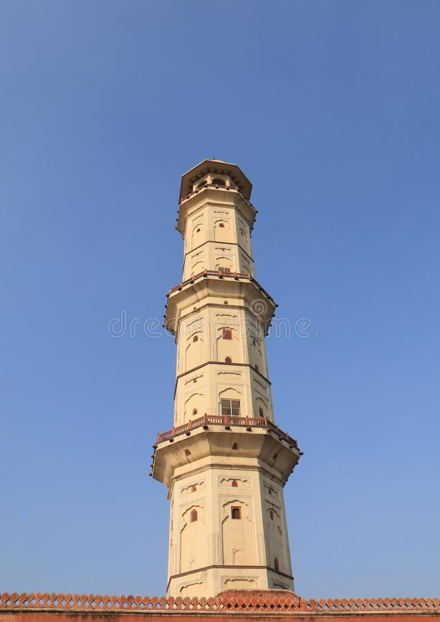 Isarlat tower historical building Jaipur India. Isarlat tower historical building in Jaipur India royalty free stock photography