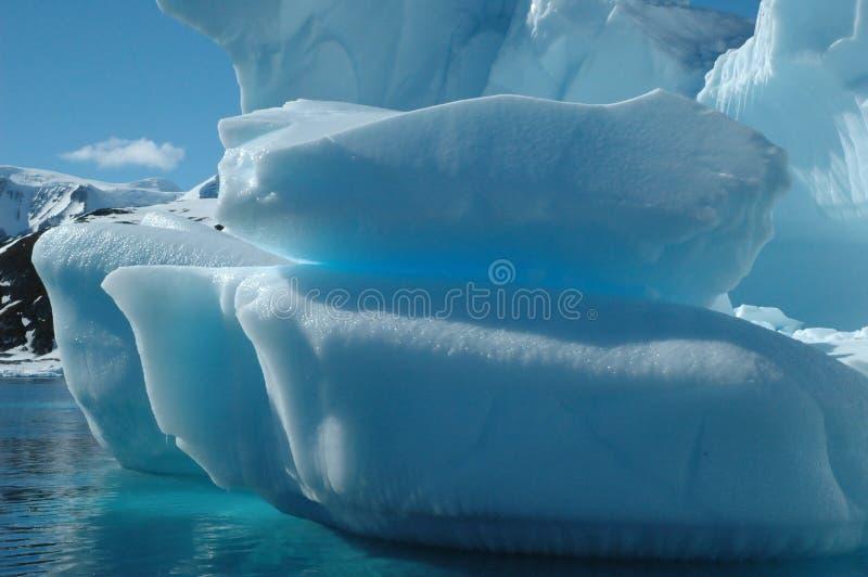 isberg arkivbild