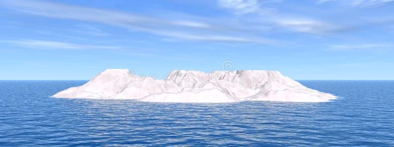 Download Isberg stock illustrationer. Illustration av snow, värme - 3541207
