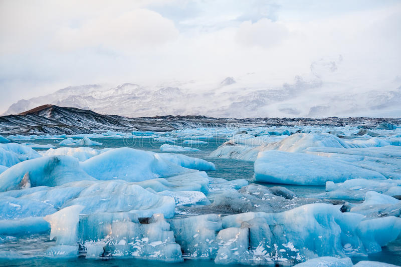 isberg iceland royaltyfri fotografi