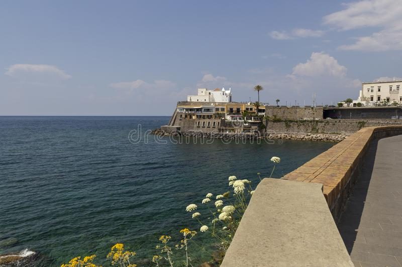 Ischia forio royalty free stock photo
