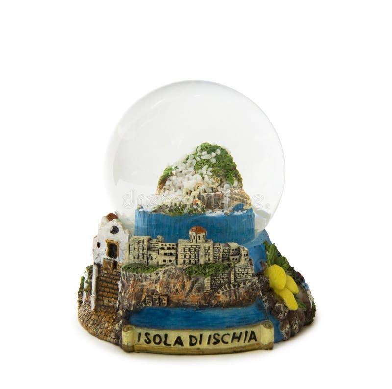 Free Ischia Snow Globe Royalty Free Stock Photography - 9348927