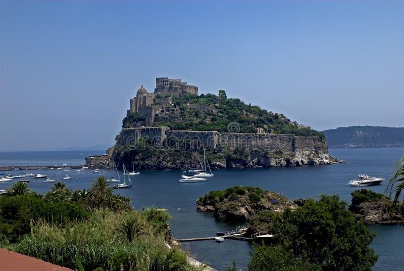 Ischions, Castello Aragonese image libre de droits