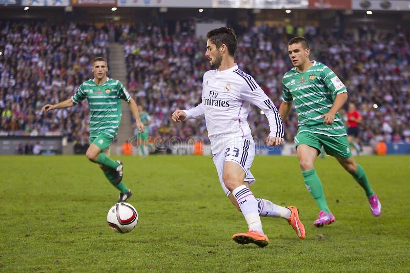 Isco Real Madrid obrazy royalty free