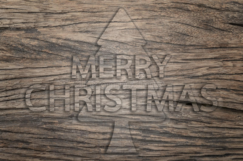 Iscrizione di Buon Natale illustrazione vettoriale