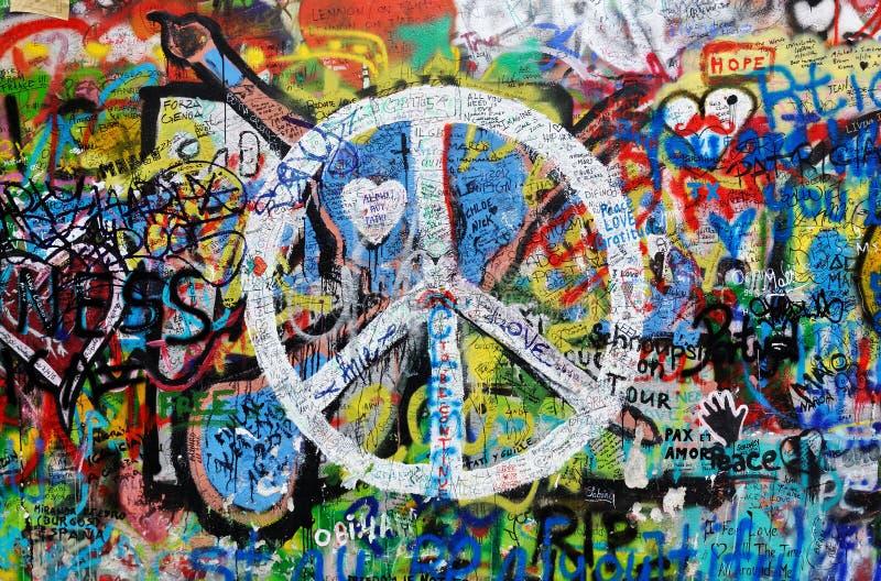 Iscrizioni sulla parete immagine stock libera da diritti
