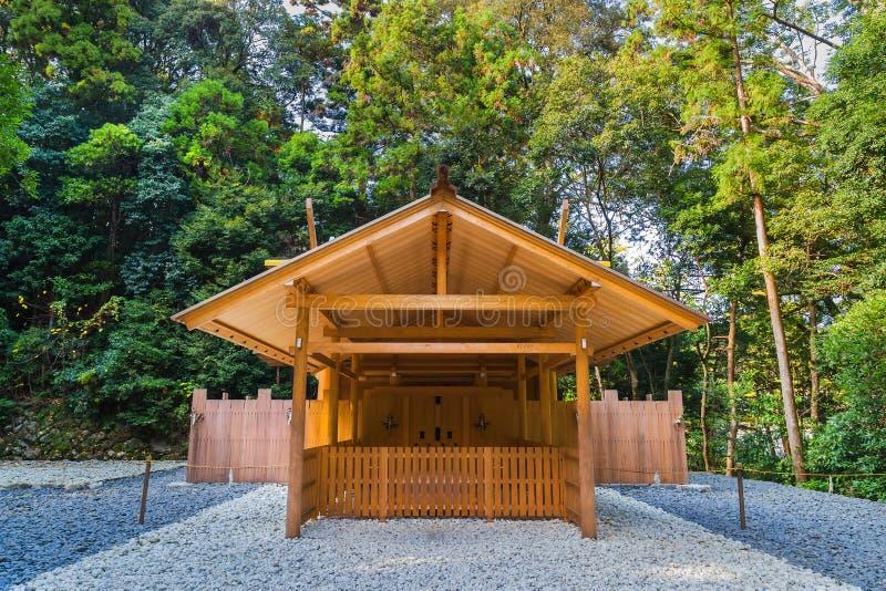 Ise Jingu Geku (santuario di Ise Grand - santuario esterno) in Ise City, Mie Prefecture fotografia stock
