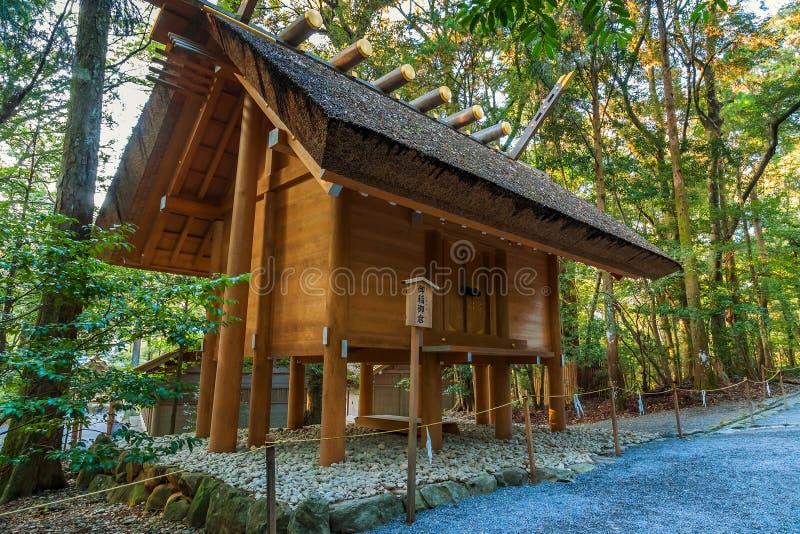 Ise Jingu NaikuIse Uroczysta świątynia - wewnętrzna świątynia w Ise mieście, Mie prefektura zdjęcia stock