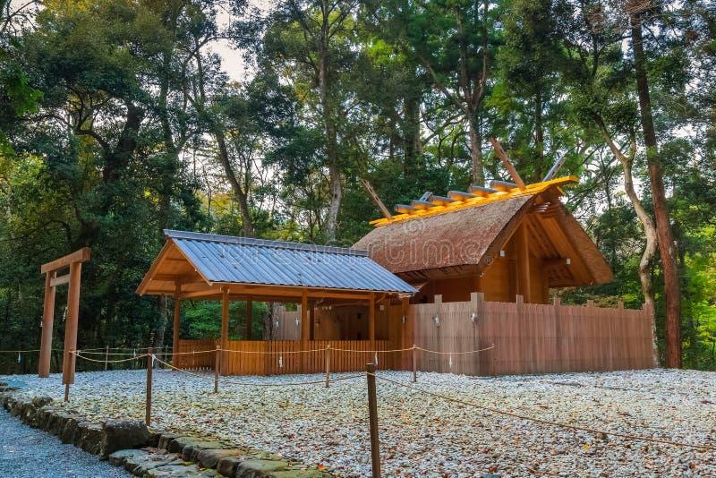 Ise Jingu NaikuIse Uroczysta świątynia - wewnętrzna świątynia w Ise mieście, Mie prefektura obraz royalty free