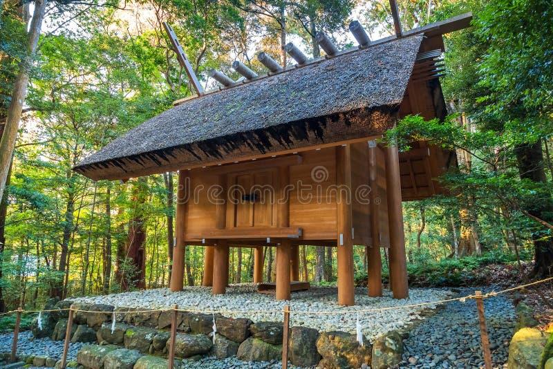 Ise Jingu NaikuIse Uroczysta świątynia - wewnętrzna świątynia w Ise mieście, Mie prefektura obrazy royalty free
