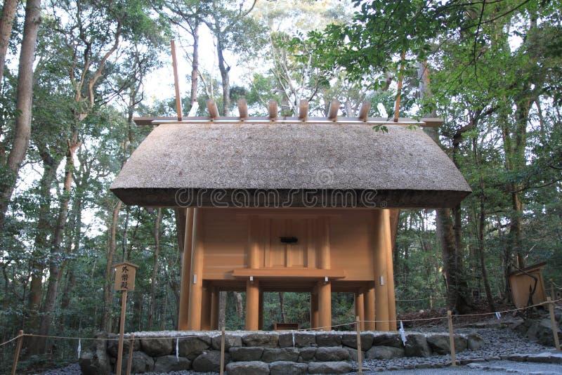 Ise Shrine fotografia stock libera da diritti