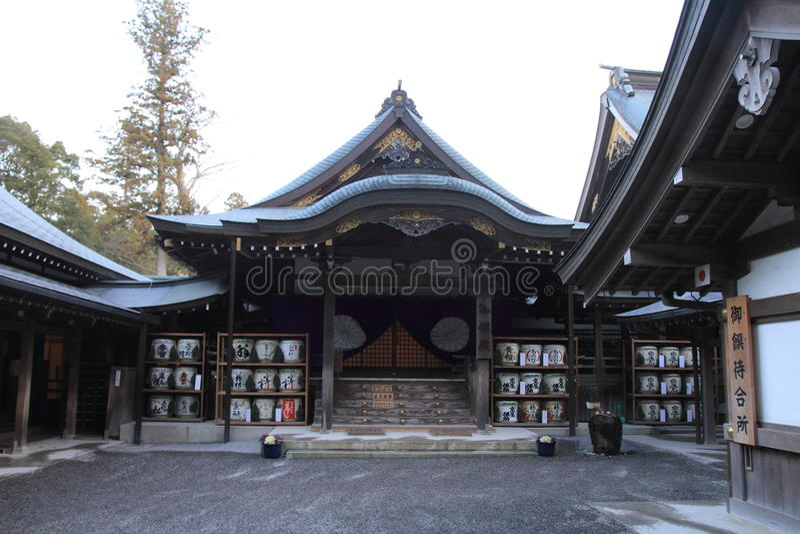Ise Shrine fotografia stock