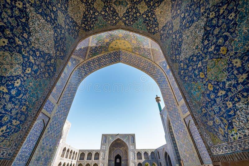 Isfahán en Irán imágenes de archivo libres de regalías