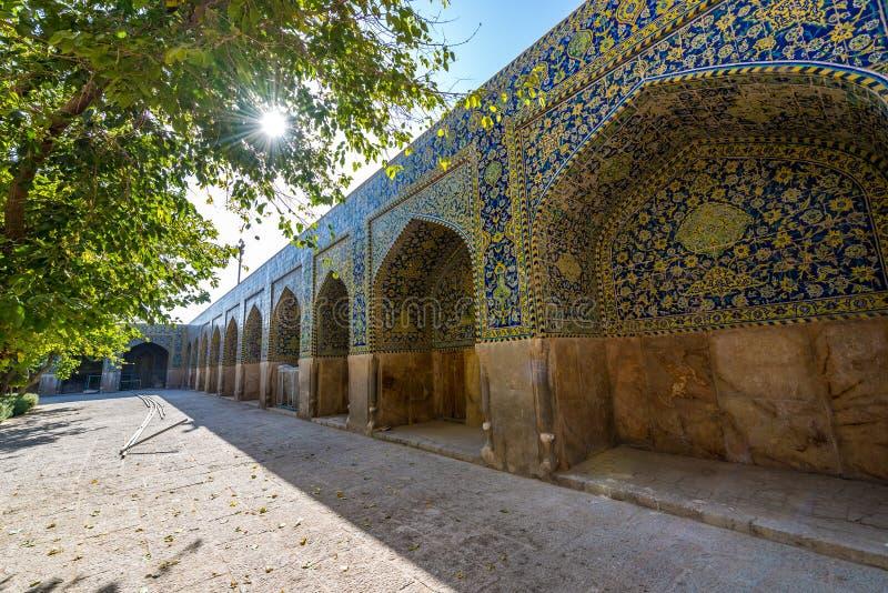 Isfahán en Irán imagenes de archivo