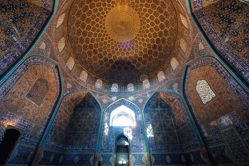 Isfahán en Irán foto de archivo