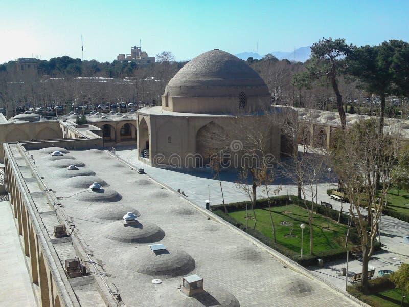 Isfah?n, Ir?n, uno de los lugares hist?ricos de la ciudad de Isfah?n foto de archivo libre de regalías