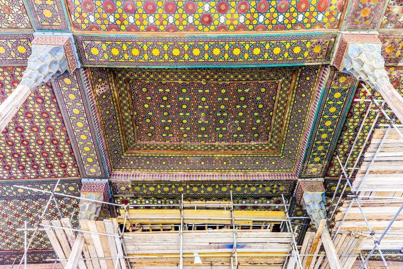 Isfahan Ali Qapu Royal Palace 04 lizenzfreie stockfotos