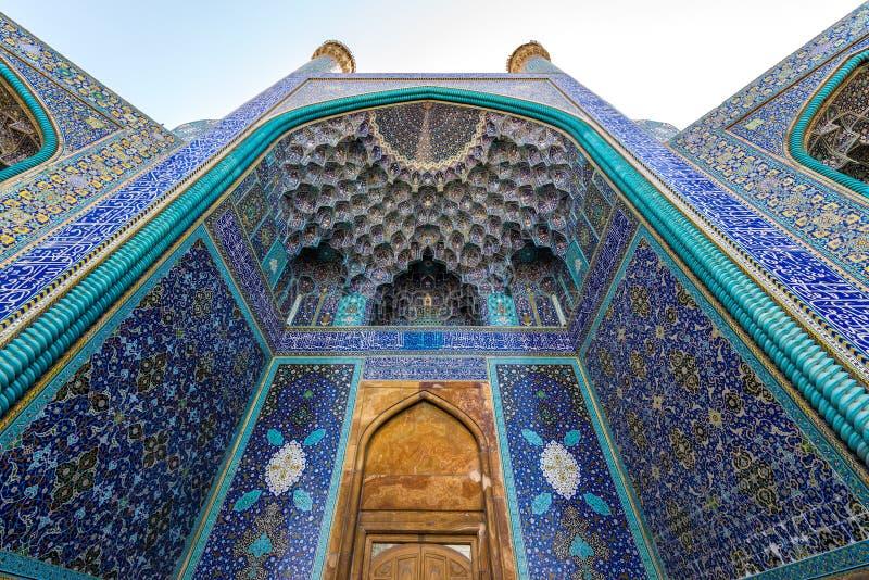 Isfahan im Iran stockfotos