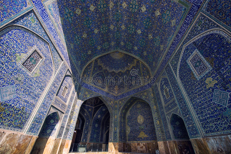 Isfahan im Iran lizenzfreies stockfoto